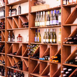 Rose Hill Manor Wine Wall