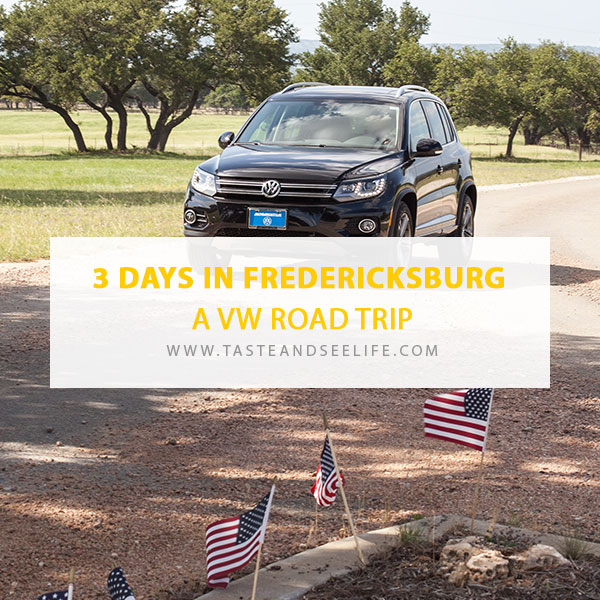 3 Days In Fredericksburg A Vw Road Trip Scenic Drives
